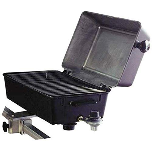 AMRS-1940054 * Springfield Deluxe Marine Barbecue Gas Grill with Square Rail Mount by Springfield Marine