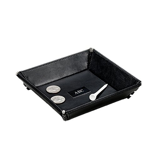 Personalized JDS Gifts Leather Stash Tray ()