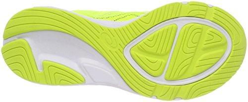 Asics Noosa GS, Zapatillas de Running Para Niños Amarillo (Carbon/safety Yellow/mid Grey 9707)