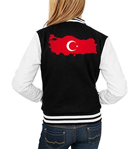 Türkei College Vest Girls Black Certified Freak