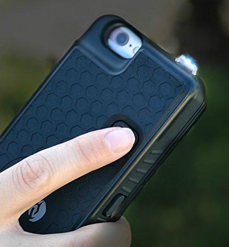 Black Phone Case Stun Gun