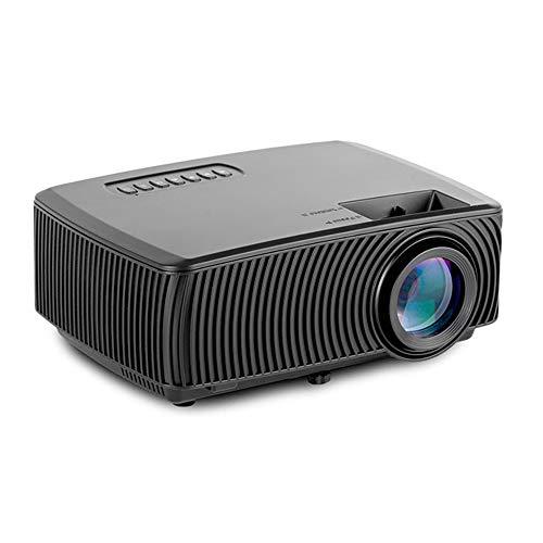 Handy Wireless Projector, Mini Home Video-Projektor, Unterstützung 1080P für Heimkino-Büro Entertainment Game Party…
