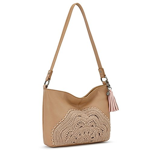 Crochet Hobo Handbag - The Sak Indio Small Hobo Sahara
