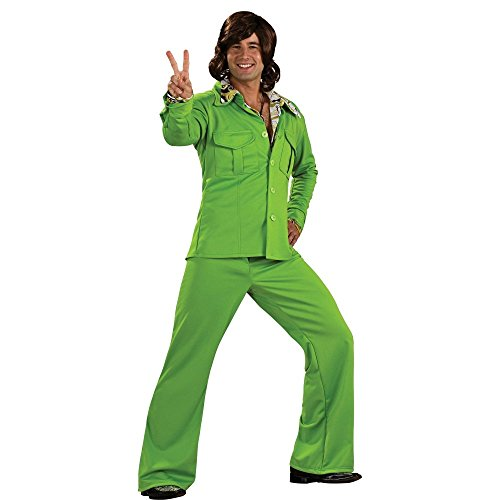 Leisure Suits 1970s (Leisure Suit Adult Costume Green - Standard)