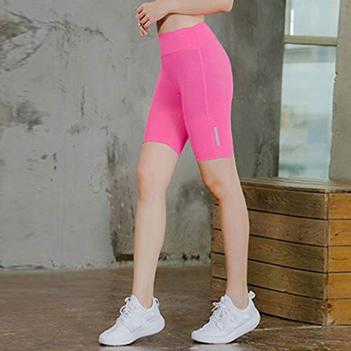 Women's Fitness Yoga Pants - Reflective Strip Night Running Training Five-Minute,2019 New by SUNSEE WOMEN'S CLOTHES PROMOTION (Image #1)