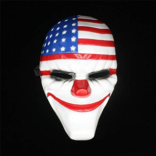 Star-Shopinc - Halloween Horror Mask Payday 2 Mask