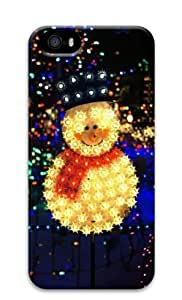 Armener Hard Protective 3D Iphone5 5S Case With Christmas Snowman-1