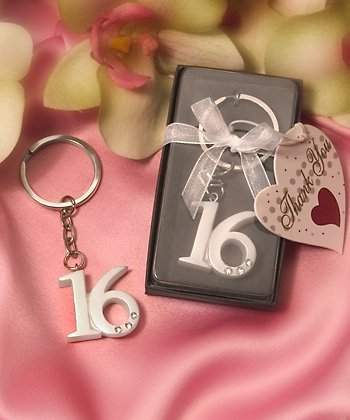 FashionCraft Sweet 16 Key Ring Key Chain