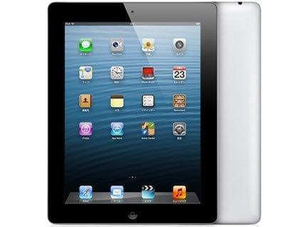 アップル au iPad (第4世代)Wi-Fi Cellular 32GB ブラック MD523J/A 白ロム Apple B00GMMHUM6
