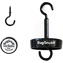 Hummingbird Nectar Ant Guard - Moat Free, Poison Free Ant Deterrent for Feeders Up to 10 Pounds by BugSnub (BSHH4)