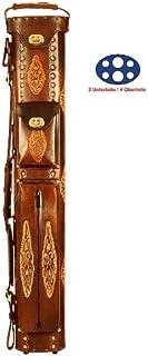 Unbekannt 'Faretra in pelle TEXAS Esecuzione per 2unterteile/4involucro colore marrone