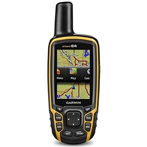 Garmin GPSMAP 64 Worldwide with High-Sensitivity GPS and GLONASS Receiver (Gpsmap 64 Screen)