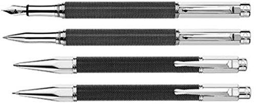 Caran D'ache Varius Ivanhoe Black Edition Broad Point Fountain Pen - CA-4490092 (Edition Broad Point Fountain)