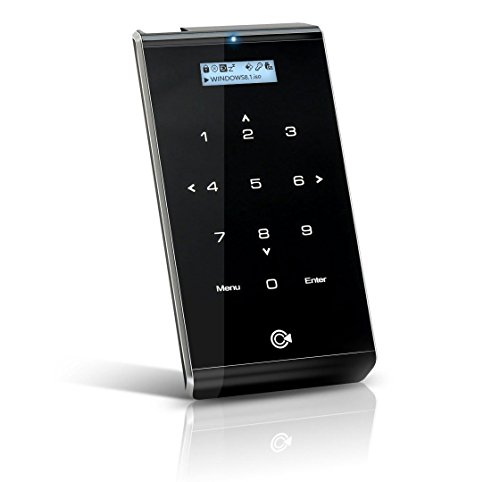 iodd 2541 USB 3.0 External Encrypted Hard Drive Enclosure [Virtual DVD Blu-ray ROM/VHD/Booting/SSD/HDD/2.5] Made in Korea