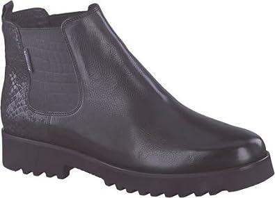 35fb1ef7a Amazon.com   Mephisto Women's Silvia Chelsea Boot, Black Texas/Queen ...