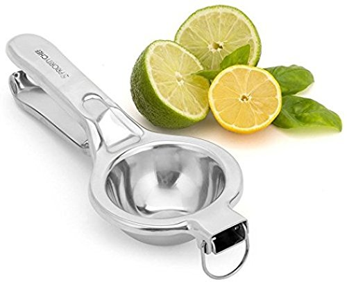 PriorityChef Citrus and Lemon Squeezer, 100% Stainless Steel, Extra Large, Makes Juicing Fun PC-CITRUS2