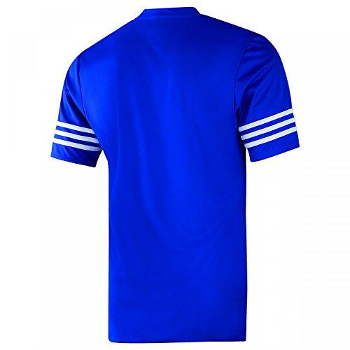Azul Entrada hombre para entrenamiento Camiseta 14 Adidas de a1g0qq