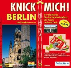 KNICK MICH! Stadtatlas Berlin mit Innenstadt Potsdam: Der Trick mit dem Knick