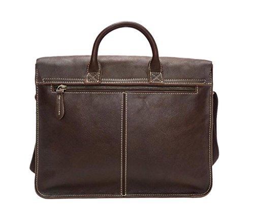 regali lucida uomo brown tracolla viaggio dark Borse dark SHOUTIBAO pelle in perfetti shopping obliqua pelle borsa brown moda borse a lavoro 4qZEEwWRnv