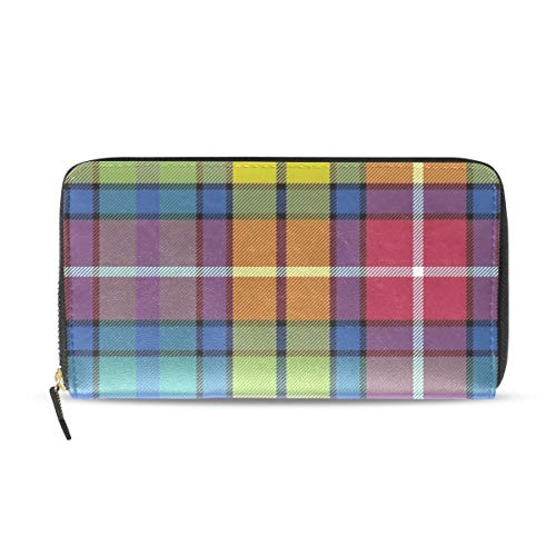 Womens Buchanan Ancient Tartan Long Wallet & Purse Case Card Holder