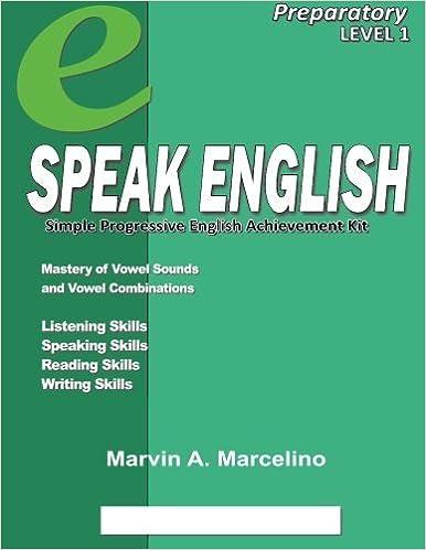 Téléchargez des ebooks gratuits pour pcSpeak English: Simple Progressive English Achievement Kit en français PDF MOBI