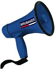 Megáfono Brubaker, funcioneshablar y sirena
