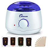 RioRand Wax Warmer Hair Removal Kit with Hard Wax Beans and Wax Applicator Sticks