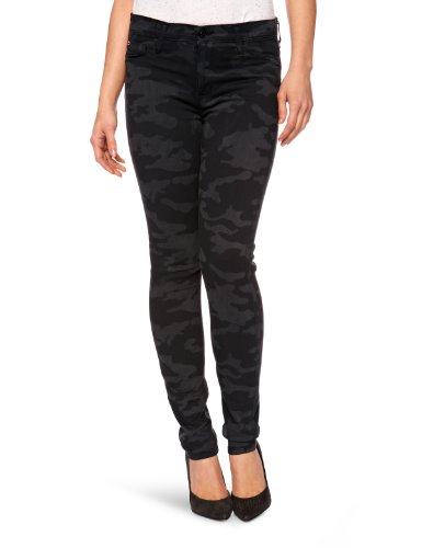 Hudson Damen Skinny Jeanshose Grau (Kohlefarben)