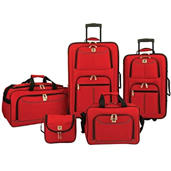 Amazon.com | American Airlines by Olympia Summerlin 5-Piece Travel ...