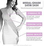 Red Bride Sash - Metallic Gold Luxury Bride To Be
