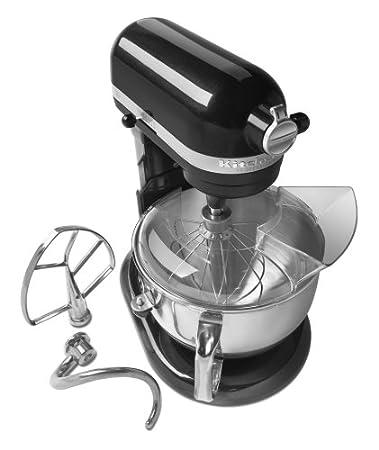 KitchenAid Professional 600 - Batidora (Batidora de varillas, 5,7 L, Mezcla, Puré, Remover, Negro, Metal, Acero inoxidable): Amazon.es: Hogar