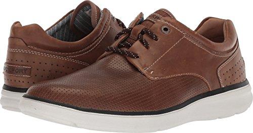 Rockport Men's Zaden Perfed Blucher Shoe, tan Leather, 10.5 M US ()