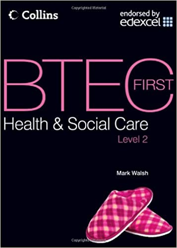 btec health and social care level 2 book