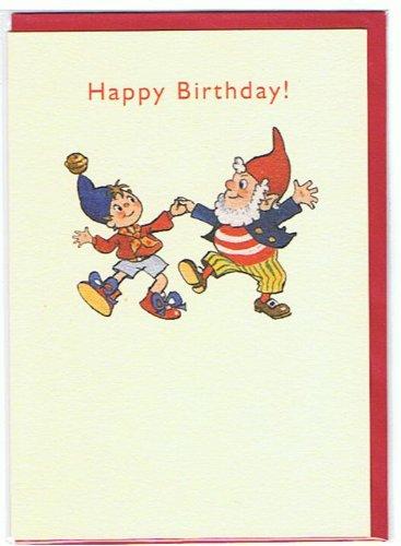Enid blyton Original de Noddy - feliz cumpleaños tarjeta ...