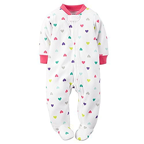 carters-baby-girls-1-piece-footed-fleece-pajamas-4t-hearts