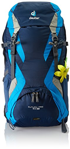 Deuter Futura Pro 34 SL Backpack - Discontinued by Manufacturer, Midnight/Turquoise / Silver