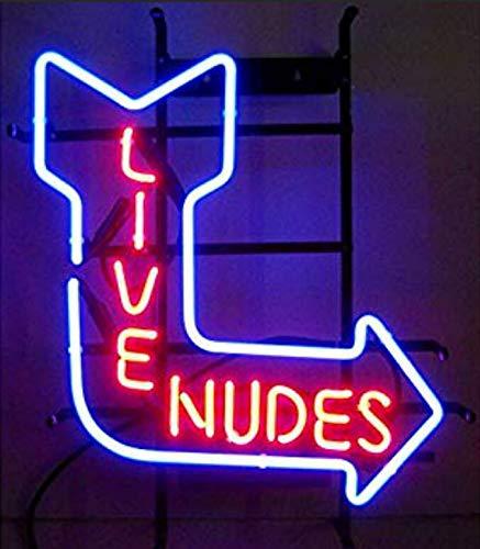 XPGOODUSA New Live Nudes neon sign-17
