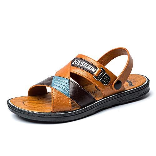 Zapatos Suela Hombres Respirables Playa Libre Aire Resbalón Los De La Ligeros Amarillo Uk6 5 Sandalias 5 En 9 Al w4pzHAnx