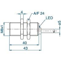 AIK18F05AP024-2M, Altech Corp, Sensors