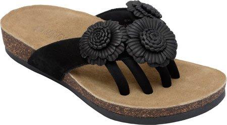 f328e7a44e76 Wellrox Women s Santa Fee-Blossom Black Casual Sandal 11  Amazon.co ...