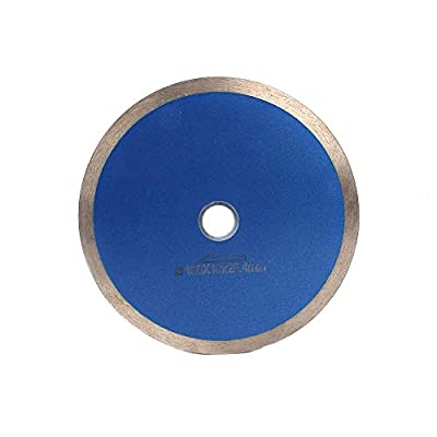 7-inch Continuous Rim Diamond Blade with 25mm Arbor for Cutting Ceramic Tile, Porcelain Tile, Stone ? Jewelry