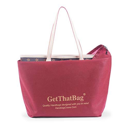 GetThatBag® Shopper Monograma Bolsa de Boston bolso hombro rUpSwrqnH