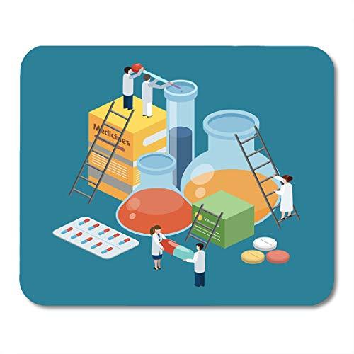 Aspirin Drug Test - Emvency Mouse Pads Pharmaceutical Production Symbolic