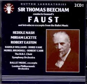 Sir Thomas Beecham Conducts Gounod's - Stores Easton Columbus