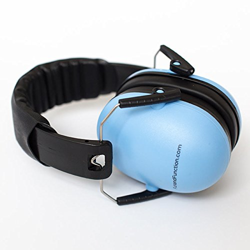 Noise Reduction Headphone for Kids with Autism, Auditory Processing Disorder or Sound Sensitivity – Blue – Ages 5+ by Fun and Function