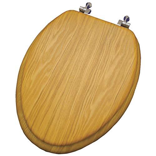 - Home Impressions Oak Veneer Toilet Seat - 1 Each