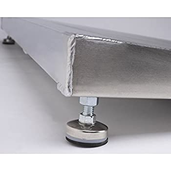 """Adjustable Threshold Ramp Size: 48"""" L x 32"""" W x 6"""" D"""