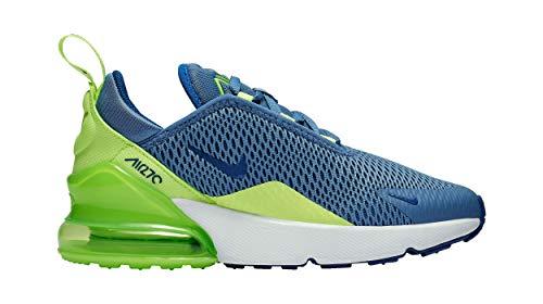 Nike Air Max 270 Indigo Storm/Indigo Force (PS) (2 M US Little Kid / 2 M -