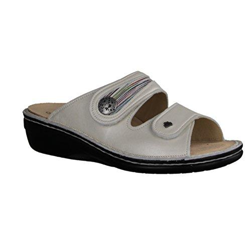 Blanco para Blanco Finn 901459 blanco mujer Piel Comfort de 82582 Zuecos Blanco wYf8OqZ