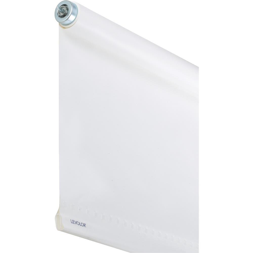 Levolor Window Roller Shade Room Darkening 37-1//4 X 78 White 6 Mil Washable Vinyl